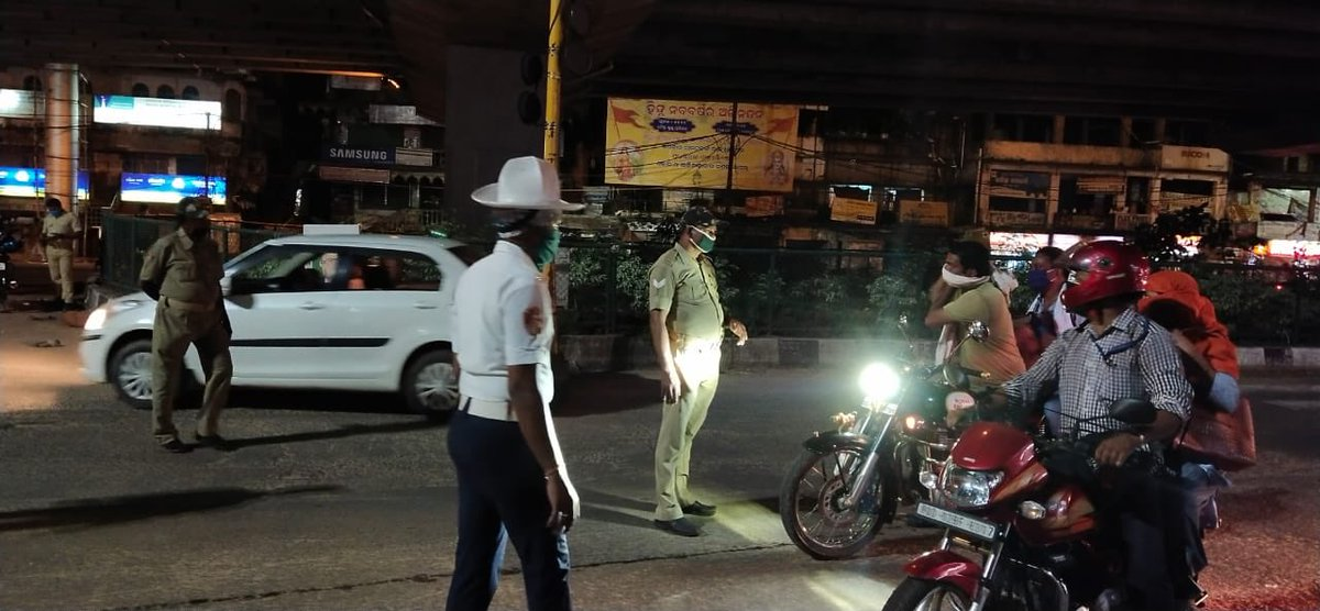 Sec 144 Imposed In Cuttack, Forces Deployed At 23 Points To Enforce Night Curfew