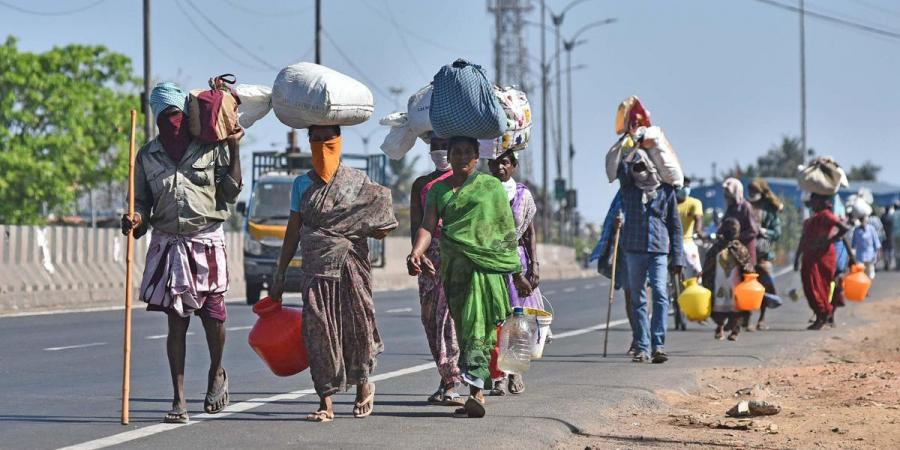 Lack of work in Latur; low class residents shift back to Vijaywada to survive