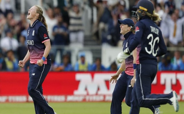 WWC 17: England defeat India to clinch Women`S World Cup title for 4th time