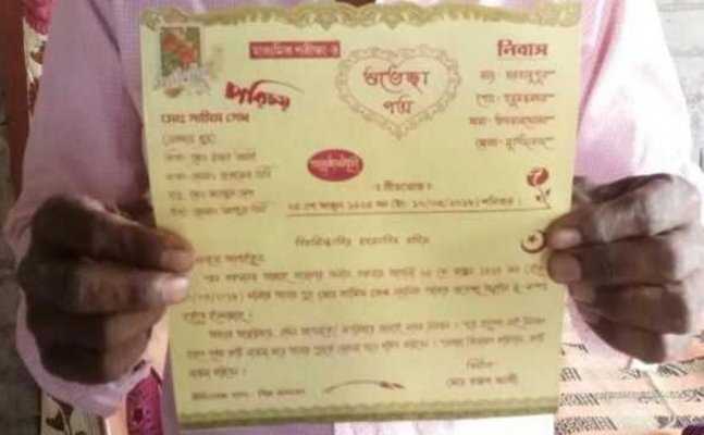 Farmer feeds 700 villagers for blessing son appearing in Class X Board Examination