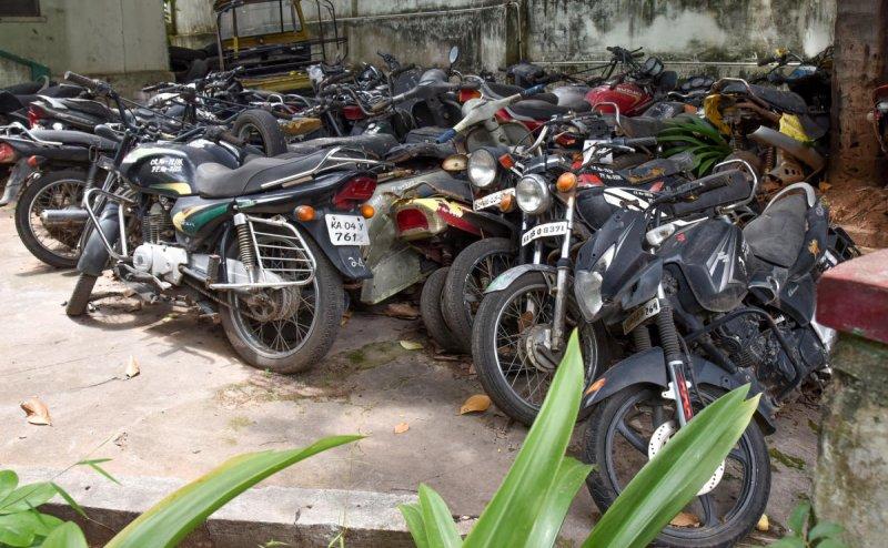 Lockdown Violated, more than 70 bikes seized: Karnataka