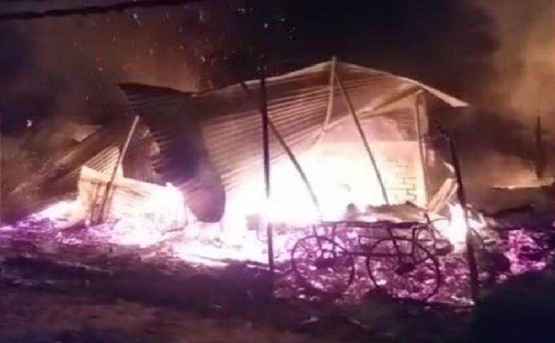 Two industrial units in Surat in blaze