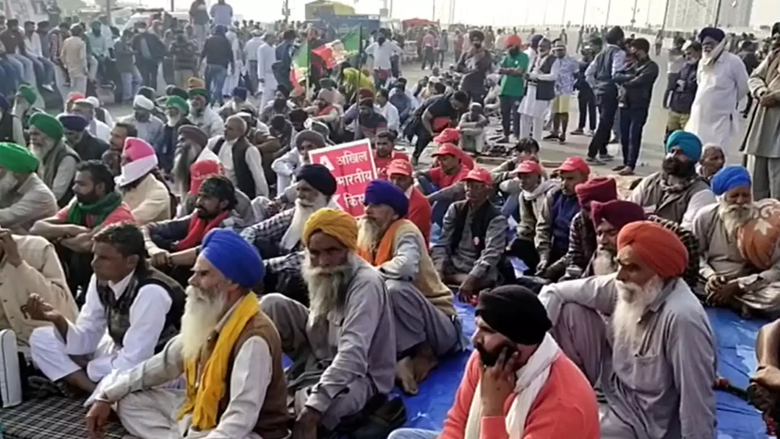 At Ghazipur, small farmers from outside Punjab say MSP just a dream