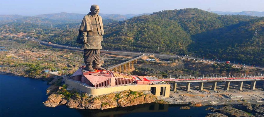 Statue of Unity on the road to becoming plastic-free, offer flavoured Narmada water