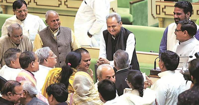 CM Gehlot calls meeting of party MLAs; Congress state in-charge says govt stable