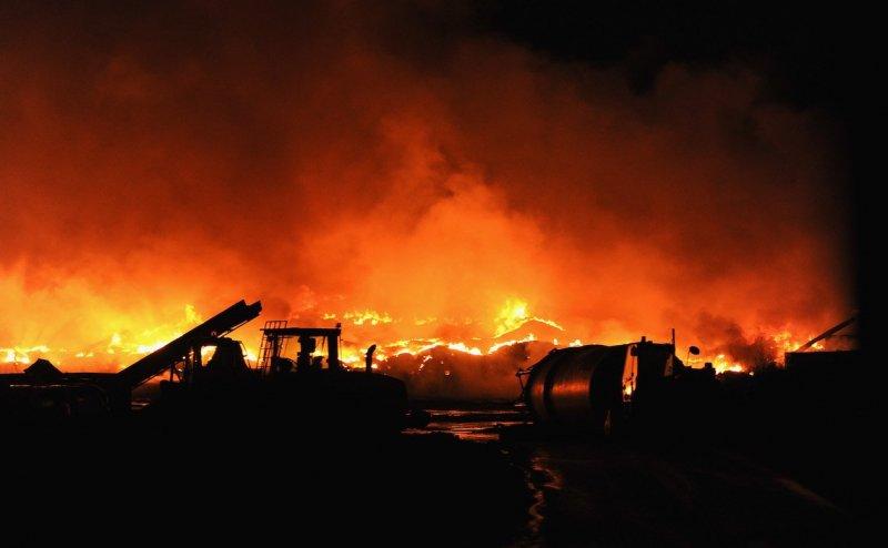 Fire broke out in Mango police station, shops lit: Jamshedpur