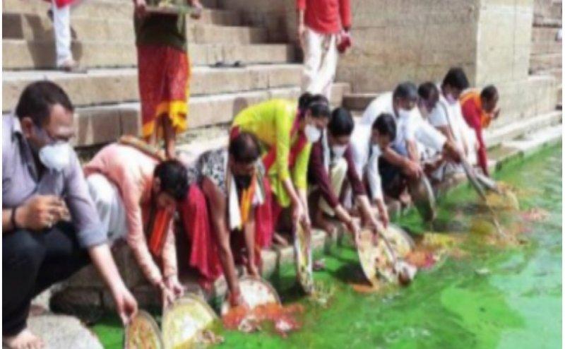 Ganga turns green in Varanasi, scientists blame it on algal bloom