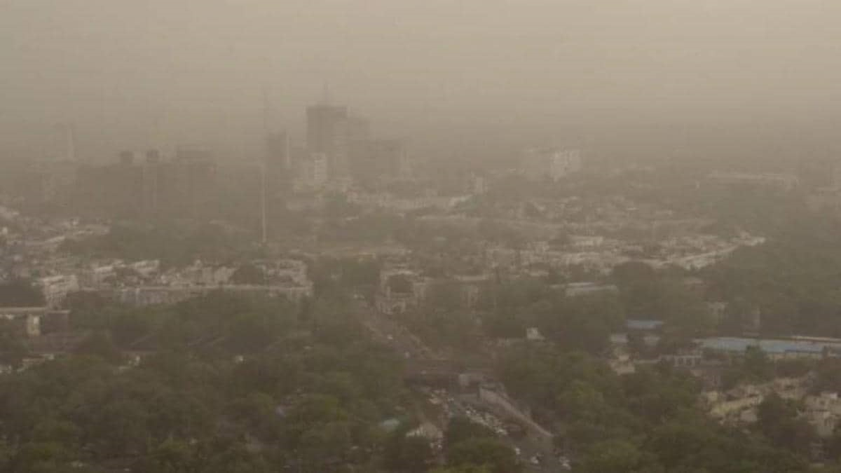 Gurugram air improves significantly due to wind