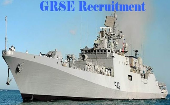 GRSE is hiring; Know application details here
