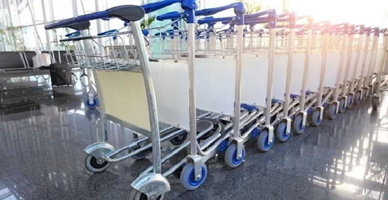 Country's first IoT-enabled 'smart trolleys' at Hyderabad airport