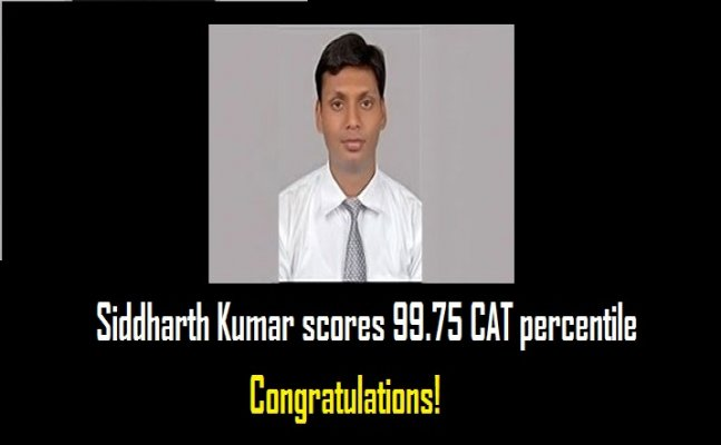 This boy from Patna left his job for CAT 2017 and scored 99.75 percentile