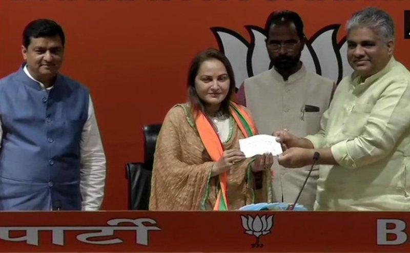 Jaya Prada Joins BJP, Says- Honoured To Work Under PM Modi's Leadership