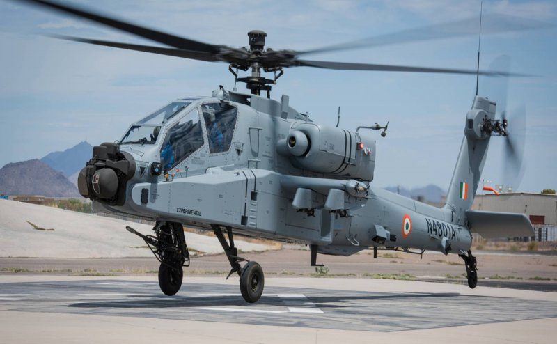 India gets its first Apache attack helicopter