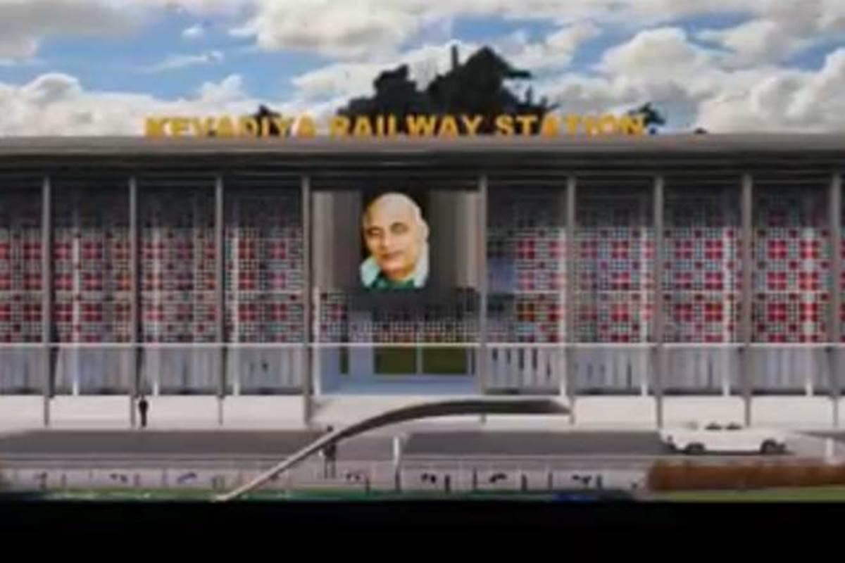 First Green station of the Country opens at Kevadiya