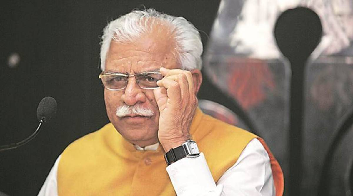 Haryana CM Manohar Lal Khattar self isolates after Union Minister Shekhawat tests positive for Covid-19