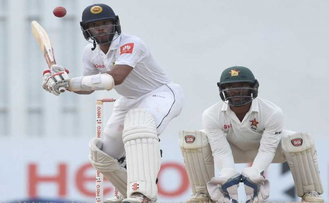 Zim vs SL: One off test match goes down to the wire