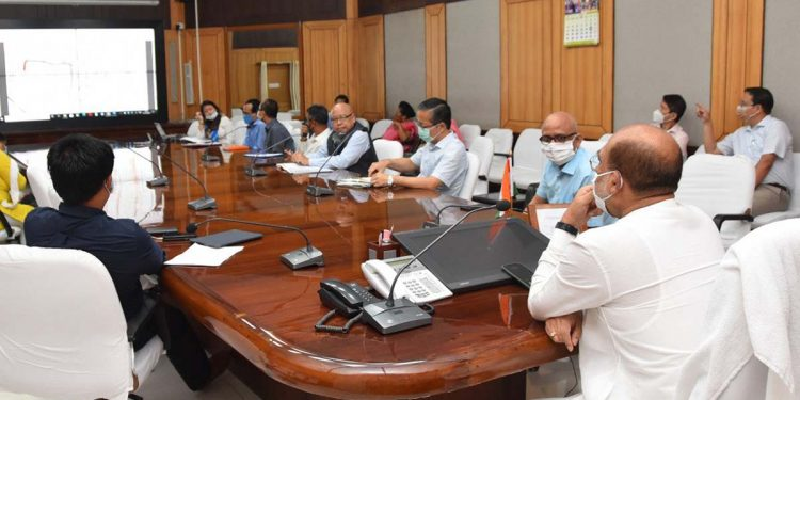 Chief Minister N Biren Singh held  a meeting on acquisition 60 bedded Maternity & Child Hospital in a minority concentrated area