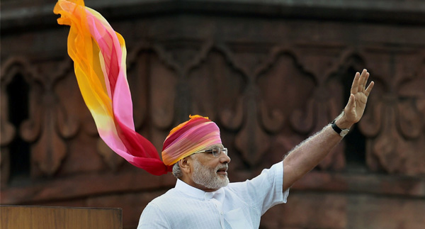 Modi`s Independence Day outfits prove that he`s the most fashionable PM