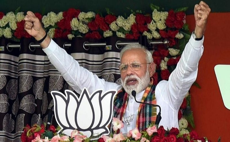 Congress contesting polls to give free hand to terrorists: PM Modi in Chhattisgarh