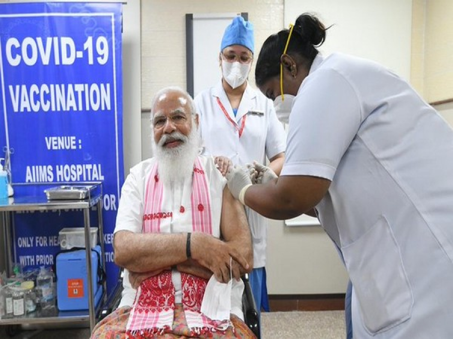 India's vaccine drive jumped 4-fold after PM Modi's jab