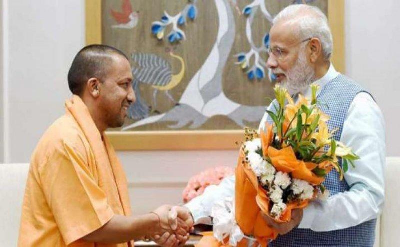 Yogi Adityanath meets Prime Minister Narendra Modi amid tumult in UP