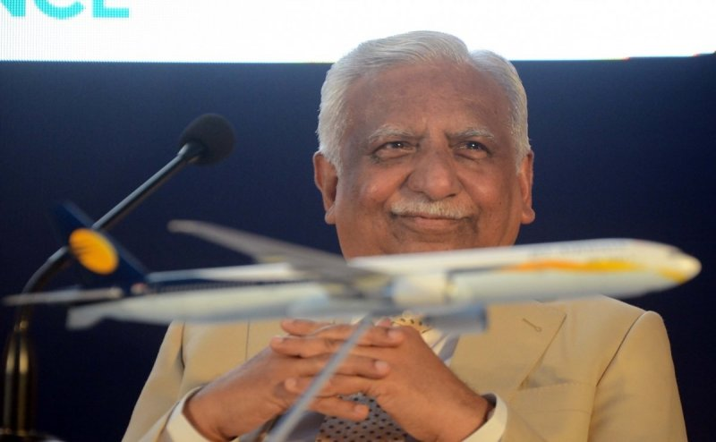 Ex-Jet Airways chairman Naresh Goyal and his wife stopped from travelling abroad