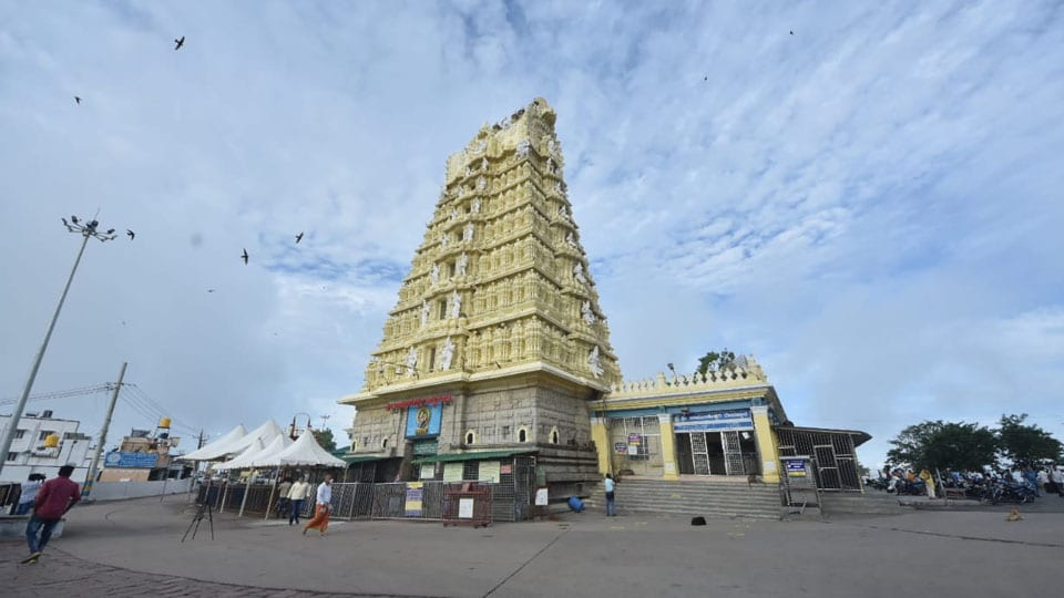 Chamundi Hill Temple closed for Rathotsava from till Tomorrow noon