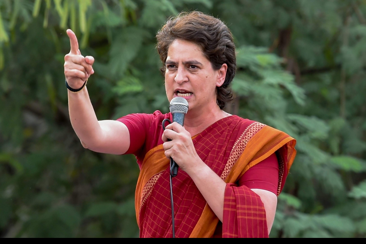 Priyanka Gandhi Vadra Asked To Vacate Government Bungalow By August 1