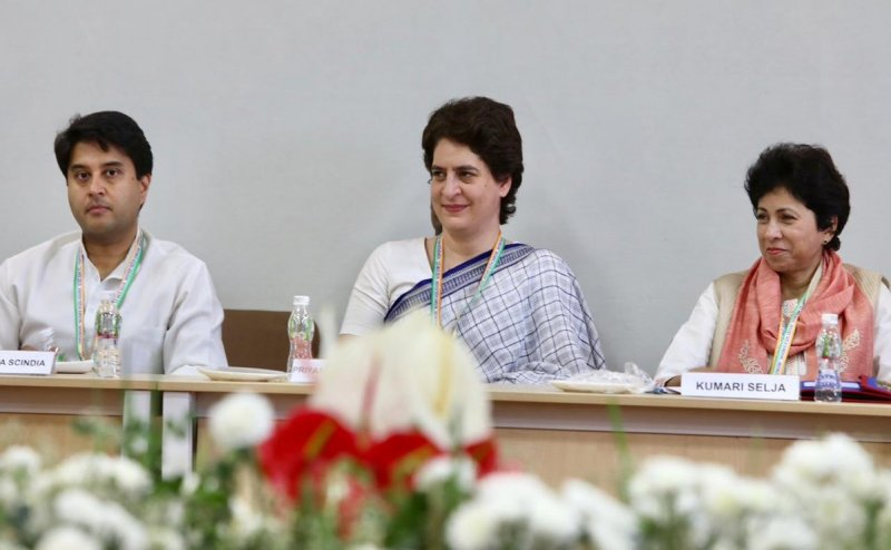 Ask the government where 15 lakh rupees and 2 million jobs: Priyanka Gandhi