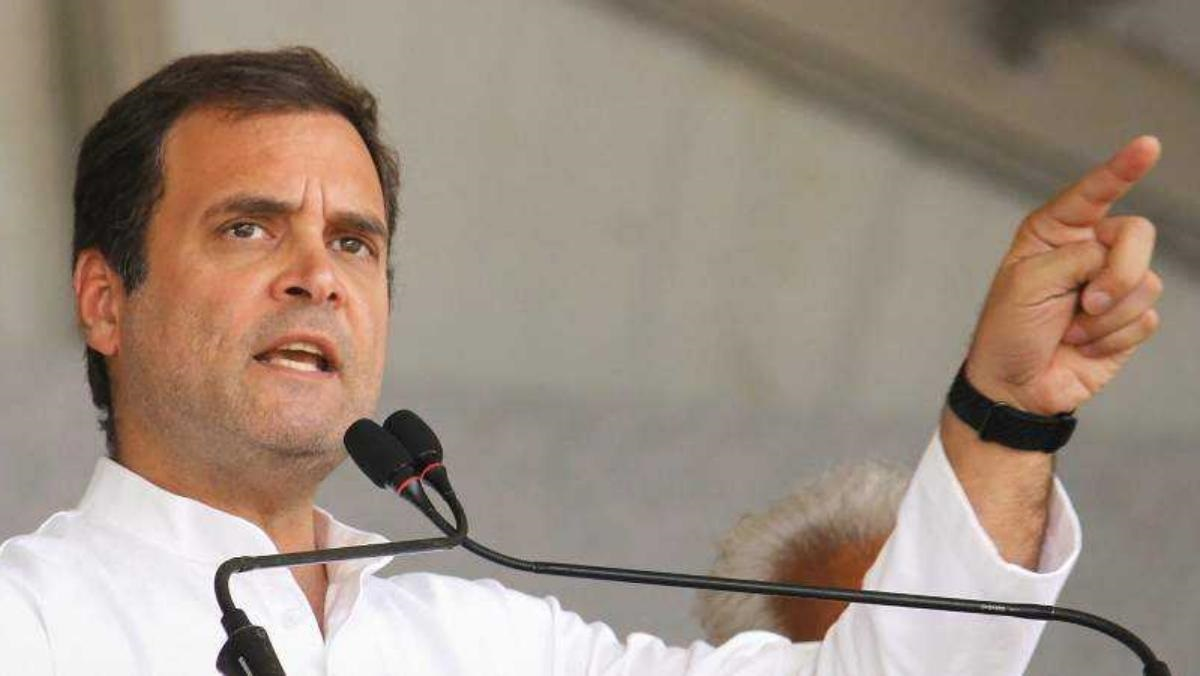 Modi thinks everyone can be intimidated: Rahul Gandhi hits out at PM on RGF probe
