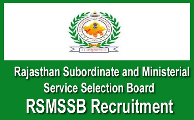 RSMSSB Recruitment 2020: 1054 JE posts with over 33,000 monthly salary, click to know details