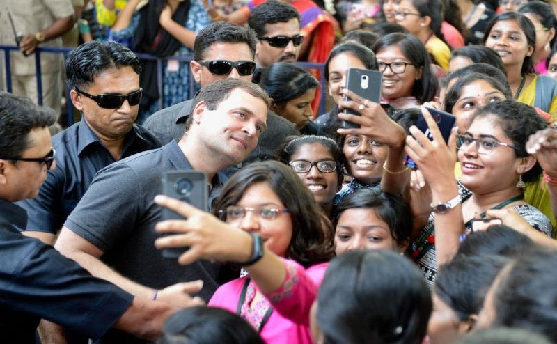 Rahul Gandhi's Chennai college event raises questions about Model Code of Conduct