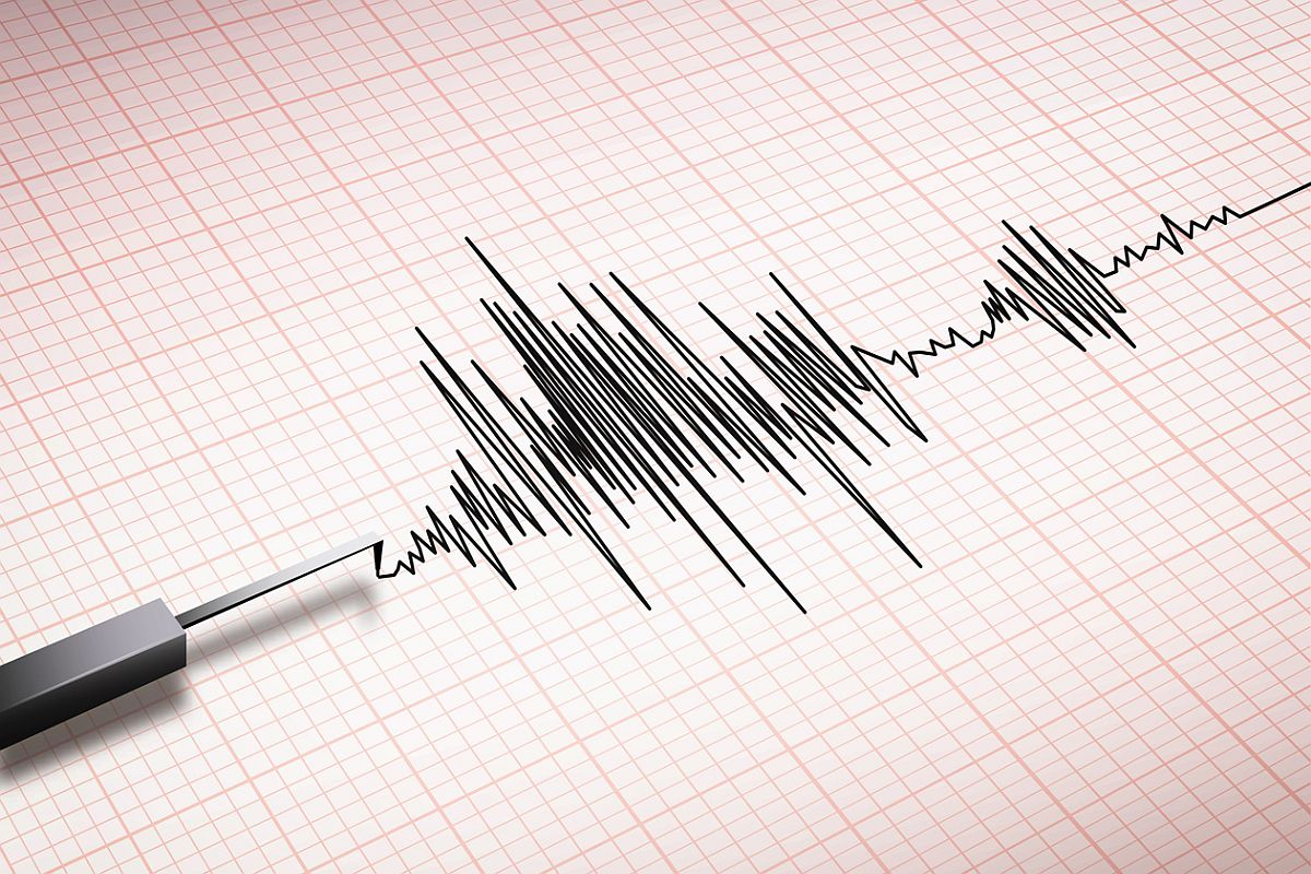 A low intensity earthquake measuring 3.5 on the Richter scale struck Manipur's
