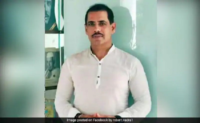 Tax Officials At Robert Vadra Office To Record Statement In Property Case