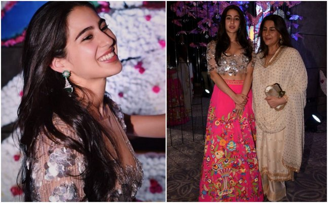 Sara Ali Khan sizzles at Sandeep Khosla, Abu Jaani's `Shaadi by Marriott`