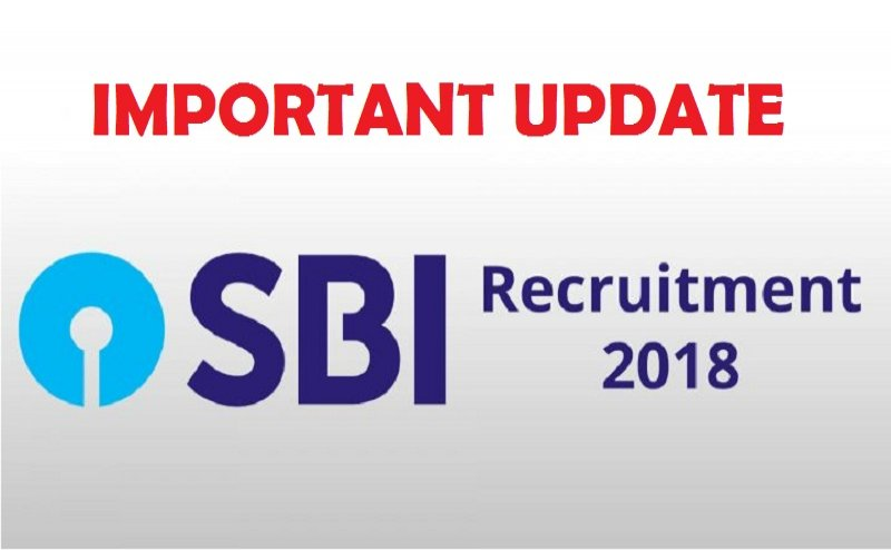 SBI Recruitment 2018: Important notification for aspirants