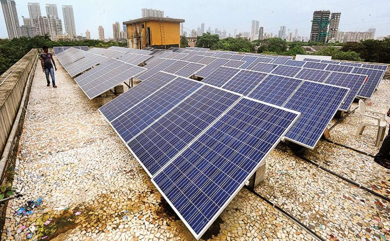 Now solar panel will be available for the people of Vizag