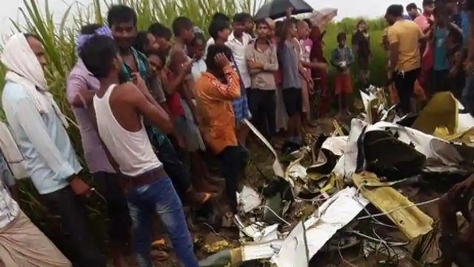 Pilot killed after trainer aircraft crashes in Uttar Pradesh's Azamgarh