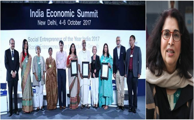 Urvashi Sahni of Lucknow wins social entrepreneur award for her contribution in education