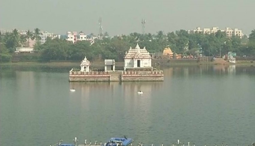 Navin Patnaik Launches Bindusagar Lake Rejuvenation Project In Bhubaneswar