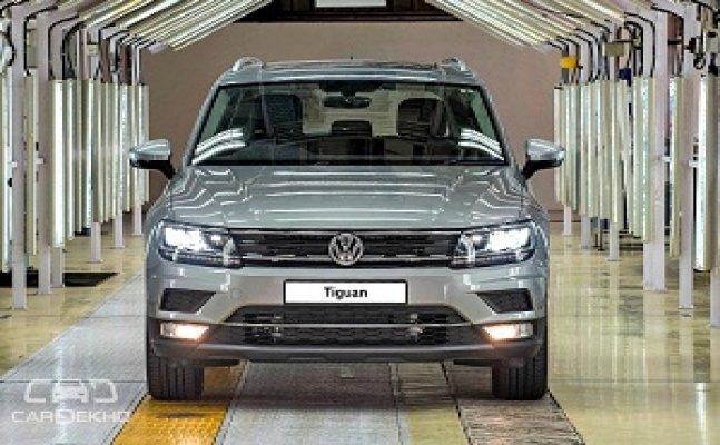 Volkswagen starts production of Tiguan at the Aurangabad plant