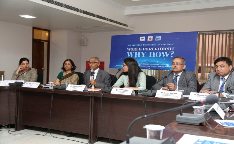 """Formation of World Parliament is necessary to save humanity from annihilation"" – eminent panelists at the Roundtable"