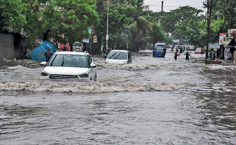 Man electrocuted due to water logging