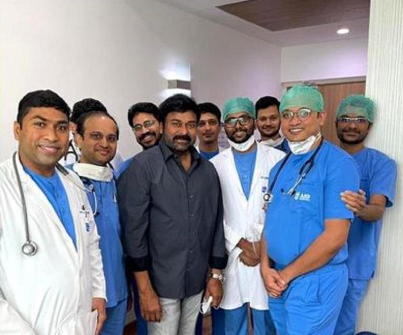 Chiranjeevi express gratitude towards doctors, COVID warriors