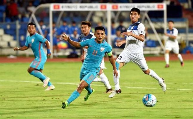 India remain at 102 in latest FIFA ranking