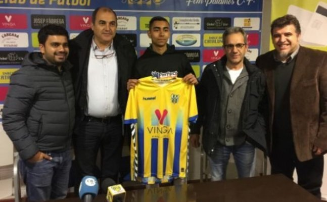 Indian football Luv Kapoor signs for Spanish side Palamos