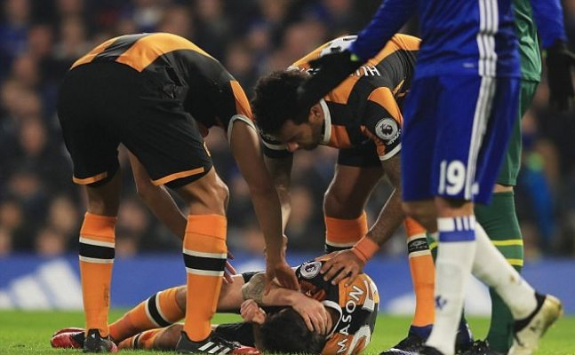 Ryan Mason forced to retire