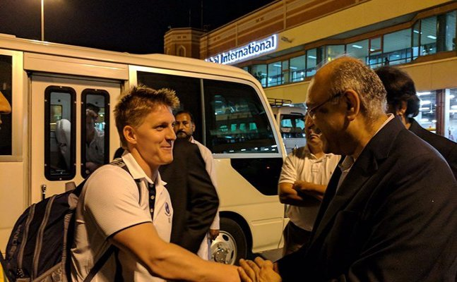 World XI arrives in Lahore, amid tight security