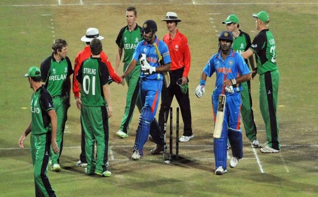 India to play T20I against Ireland