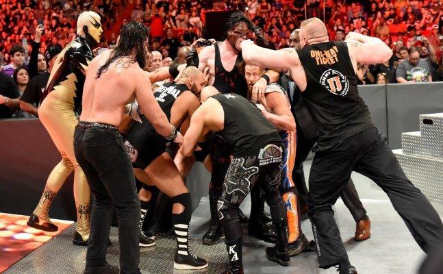 RAW: Brock returns, Roman Reigns and Samoa Joe clash